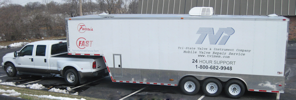 TVI's On-Site Trailer